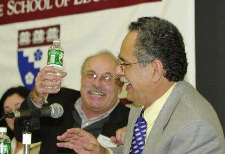 Juan Flores and Rodolfo de la Garza