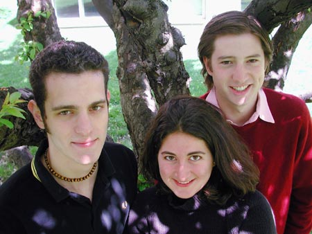 Mark Wallenstein, Erica Levy and Chris Papagianis