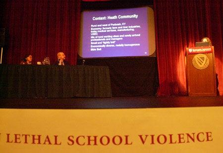 Forum on school violence