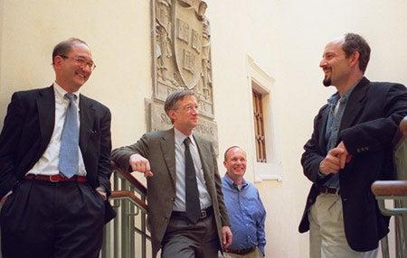 Stephen Rosen, Jeremy Bloxham, William Mills Todd III, and Marc David Hauser