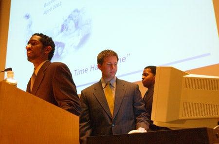 Jason Green, Lucas Klein and Matthew Mugo Fields
