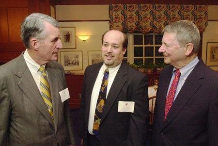 Bill Taylor, Bob Giles and Les Gura