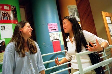 Eileen Chang and Antoinette Basualdo