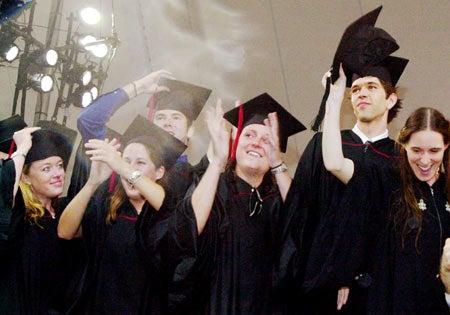 Summa Cum Laude graduates