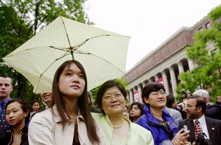Sonia Cheng (left) and Winnie Mak