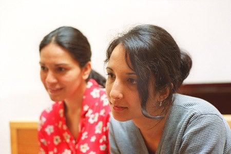 KSG Graduates, Shanti Nayak and Nazanin Samari-Kermani