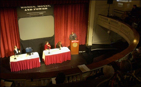 Panelists at Radcliffe