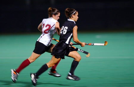 Kate Gannon '05 and Kelly Piwinski of Providence College