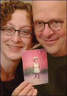 Tim Strawn and Pam Bleisch