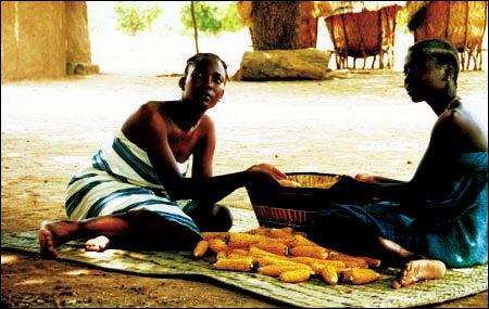 Still photo from Gaston Kaboré film 'Buud Yam'