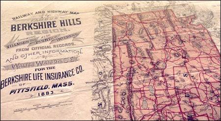Berkshire Hills map