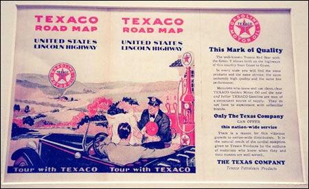 Texaco road map