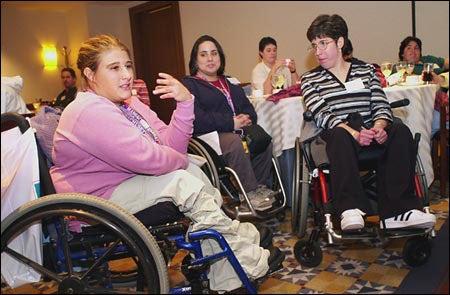 Youth forum participants