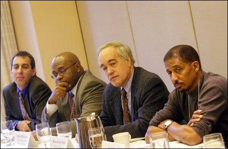 Racism panelists