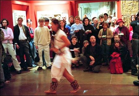 Opening ceremonial dance