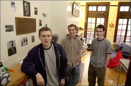 Stephen Stromberg, Michael Donahue and Matthew Ferrante