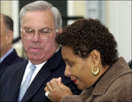 Thomas M. Menino and Minnie Walcott