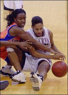 Jessica Holsey '06; Syracuse's Tierra Jackson