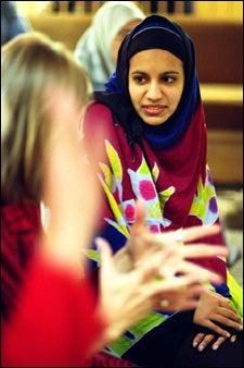 KSG student Lala Qadir in conversation