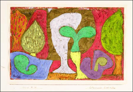 Paul Klee drawing 'Botanical High Culture'