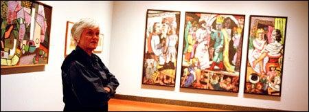 Curator Marjorie Cohn
