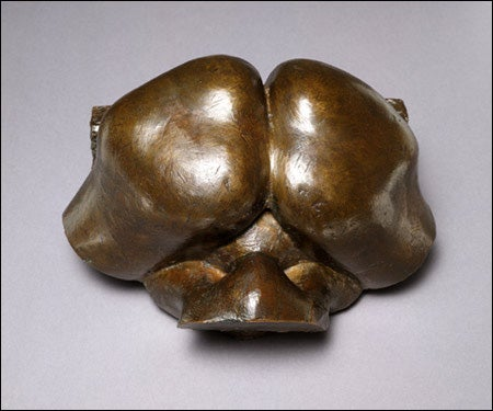 Bulbous abstract Lachaise bronze