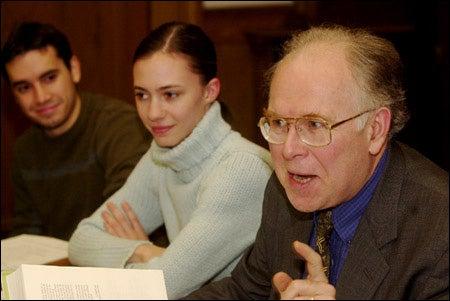 Michael McCormick, history students