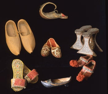 Peabody museum shoe exhibit