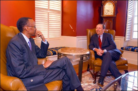 Paul Kagame, President Summers