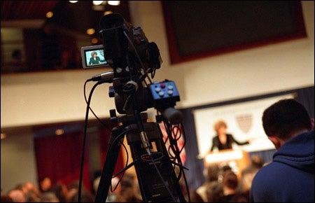 Videotaping Angela Davis