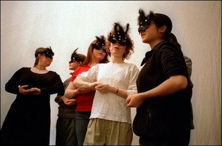 'Onegin' chorus members