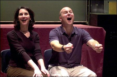 Performers Gail Stern, Christian Murphy
