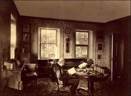 Emerson in his study