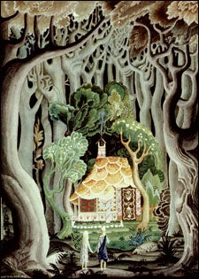 Detail from Hansel and Gretel