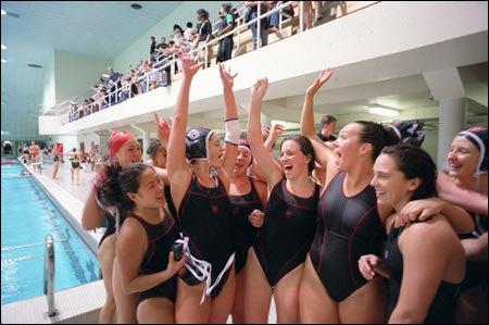Harvard women's water polo team