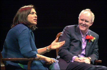 Mira Nair and John Lithgow