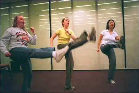 RAD participants Gretchen Peterson, Lucy Perez Fernandez, Soojin Kwon