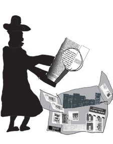 illustration of detective