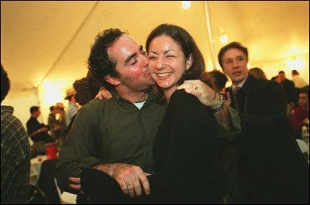Michael Rosen and sister Gabriella Rosen