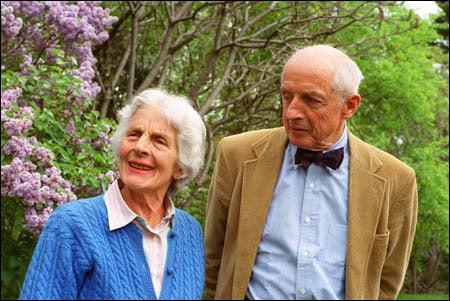 Katherine and Albert Merck