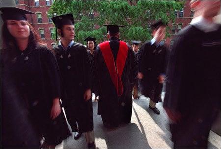 Graduates, Rev. Peter J. Gomes