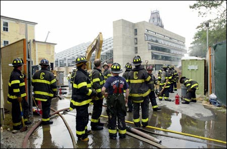 Cambridge firefighters