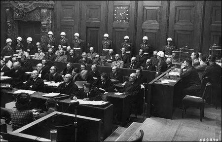 Nuremburg courtroom
