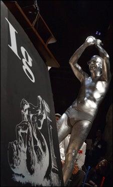 Bronzed Ig Nobel 'statue'