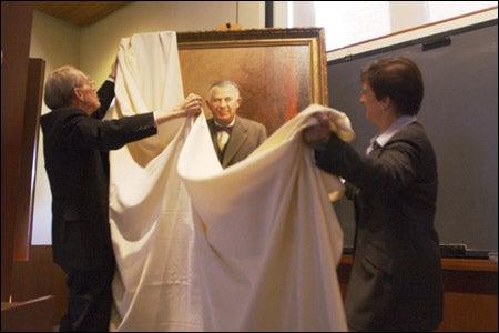 Unveiling the portrait
