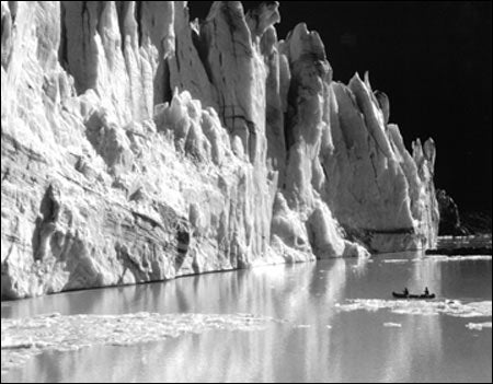 Washburn photo of Alaskan glacier