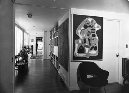 Sert House interior
