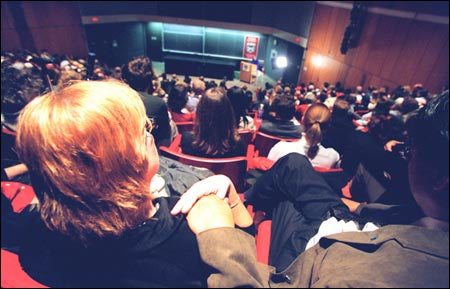 Audience at Bok lecture