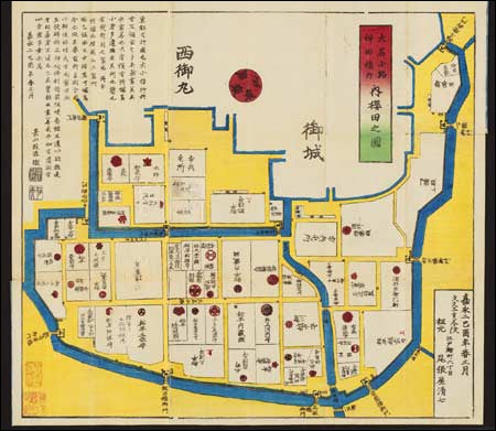 Map of Kwon Ki