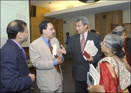 Abul Hassan Chowdury, Sugata Bose, Saleem Sherwani, Krishna Bose